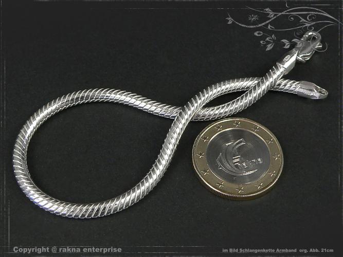 Schlangenkette  Schlangenkette Armband 925 Silber