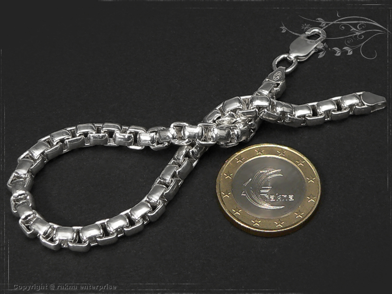 Silberkette  Silberkette Armband Venezia 925 Silber